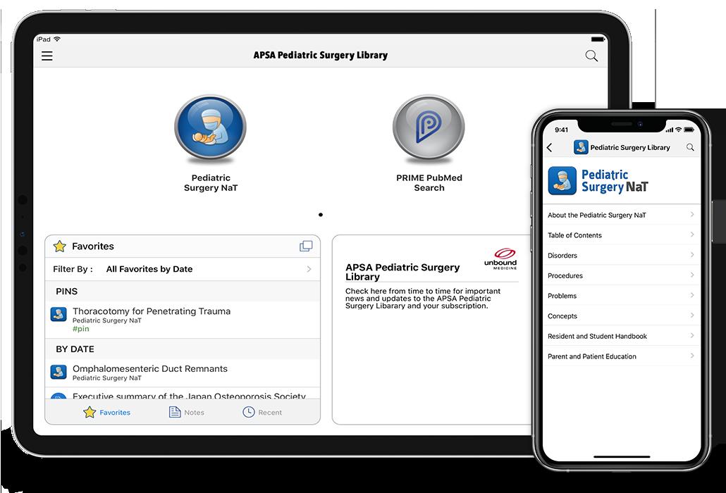 Pediatric Surgery Library iOS iPhone iPad Android
